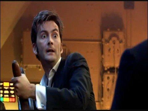 Que dit le docteur après  Allons-y , dans un épisode ?