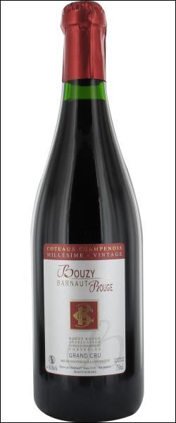 Ce vin tranquille AOC Côteaux Champenois est rare et précieux. Il était servi aux sacres des rois à Reims et à la table de Louis XIV. Il fait partie du patrimoine des vins de France. C'est le :