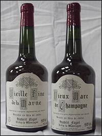 Eau-de-vie obtenue par la distillation de vins du vignoble champenois, elle est à la Champagne, ce que le cognac est aux Charentes. C'est la :