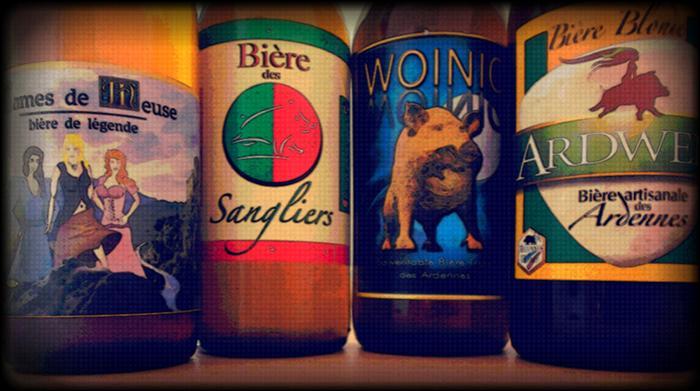 Une autre bière, aux couleurs officielles du CSSA (club sportif Sedan Ardennes), véritable breuvage de caractère, est sortie depuis peu. C'est la :