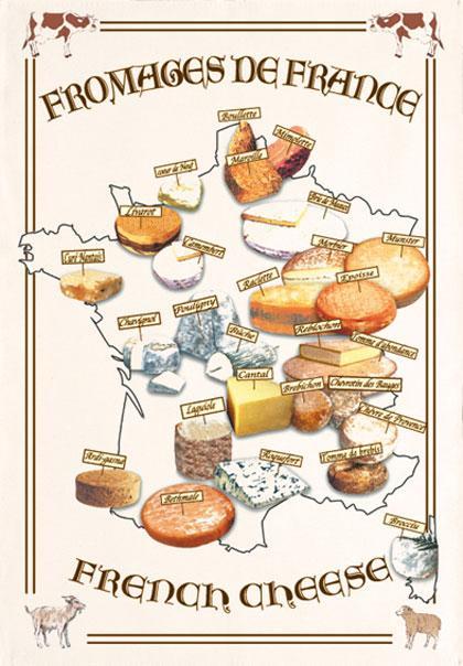 Les fromages les plus connus de France