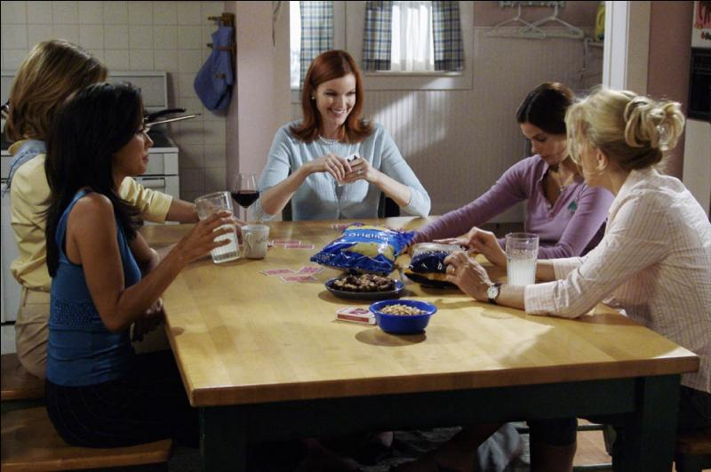 Quel est le jeu de cartes de prédilection des femmes de Wisteria Lane ?