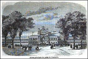 Durant mon règne j'accueille 2 expositions universelles, une en 1855 et l'autre en quelle année ?