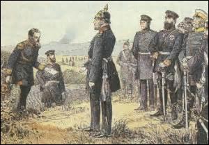 Enchainant les revers militaires, le 2 septembre 1870, n'ayant pu trouver la mort à la bataille de Sedan auprès de mes hommes, je dépose les armes et tente de négocier les clauses de la capitulation avec Bismarck (entre autres, la perte de l'Alsace-Lorraine) , en 1871 l'Assemblée qui s'est réunie à Bordeaux vote ma destitution (contre l'avis du peuple) , mais à quelle date ?