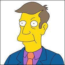 Comment s'appelle le proviseur de l'école de Springfield ?