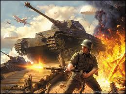 Que signifie le terme  Blitzkrieg  ?