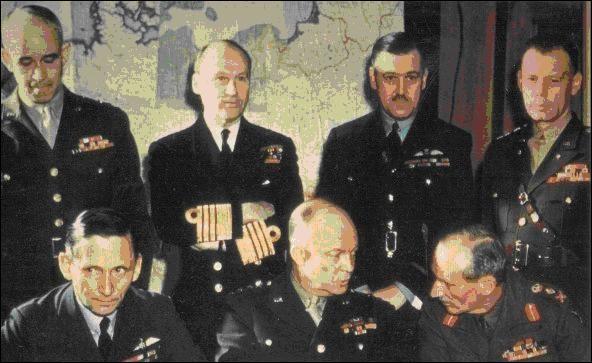 Qui sont les responsables alliés du débarquement (entre autres) ? A vous de trouver la bonne affirmation !