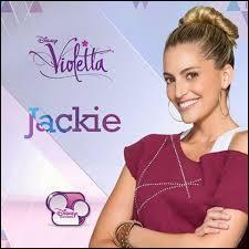 Quel professeur Jackie va-t-elle remplacer ?