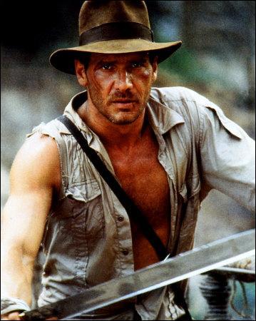 Célèbre aventurier des films de Spielberg, j'incarne néanmoins un rôle plus tragique dans un film de science-fiction, lequel ?