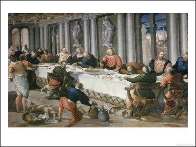 Pendant son séjour à Venise (1567-1568 voire 1570), ce peintre espagnol livre aussi une étonnante Cène. Qui est-ce ?