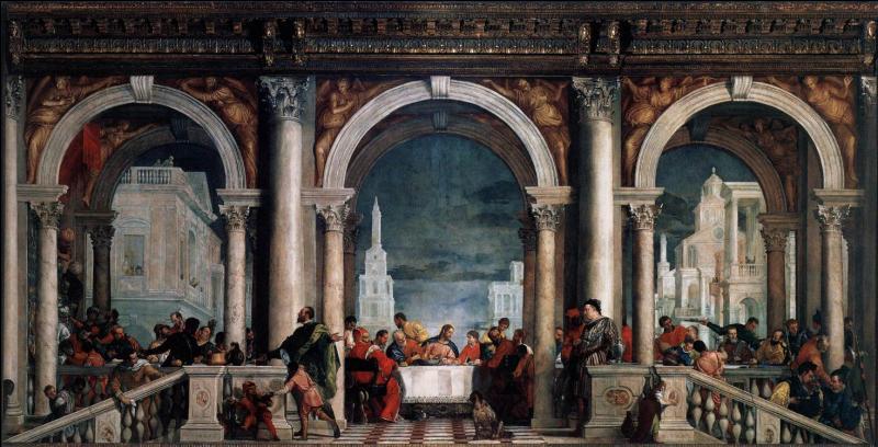 Paul Véronèse change le titre de  La Cène  peinte en 1571 en  Le repas chez Lévy . Pourquoi ?