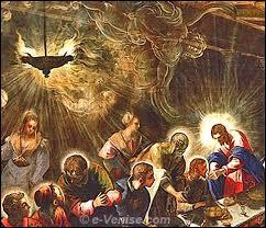 Qui est l'auteur d'une  Ultima Cena , à l'église San Giorgio Maggiore de Venise, en 1500 ?