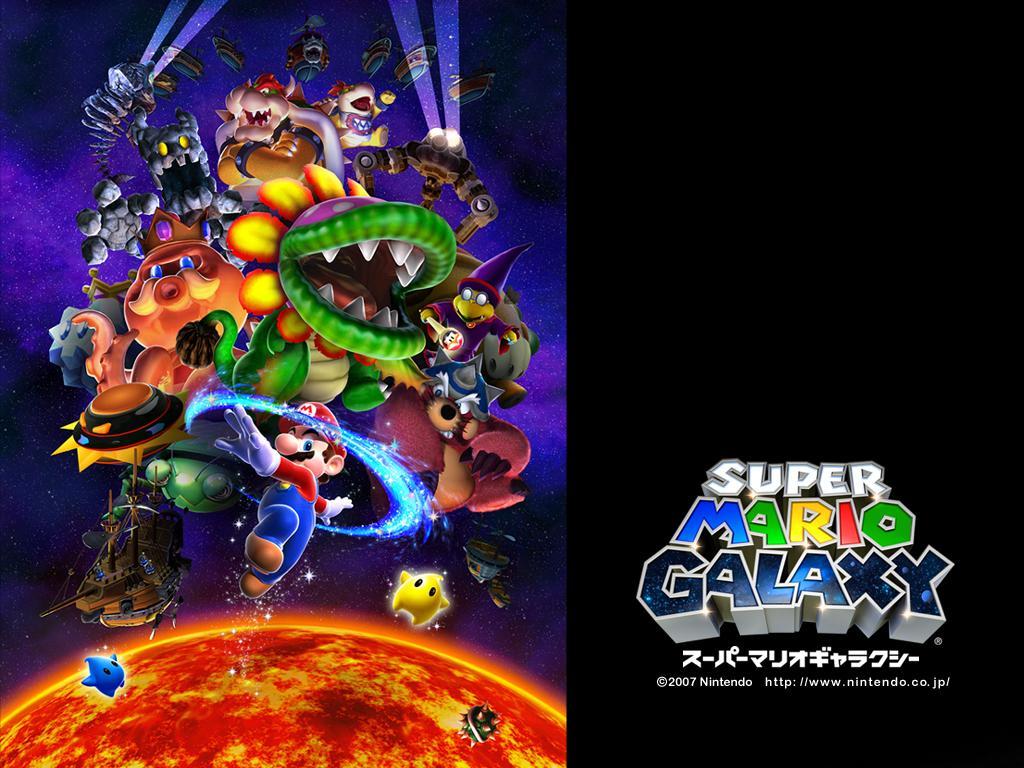 Boss et questions de Super Mario Galaxy 1 et 2