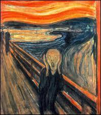 La toile  Le cri  d'Édouard Munch est de quelle facture ?