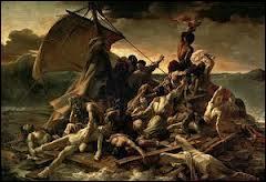 Petite anecdote, à propos de la toile de Géricault :  Le radeau de la Méduse  pourquoi la plupart des personnages portent-ils des chaussettes ?