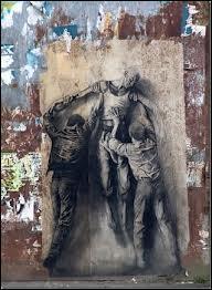 Quel est cet artiste français né à Nice, plasticien, un des pionniers de l'art urbain en France ?