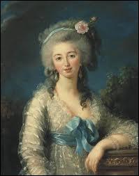 Quelle était la peintre officielle de la reine Marie Antoinette ?