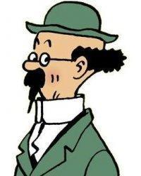 Les personnages dans Tintin (3) - Tournesol