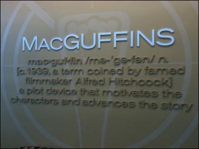 Dans quel film le MacGuffin utilisé par Alfred Hitchcock n'est pas un objet ?