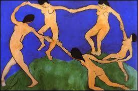Qui a peint cette toile intitulée  la danse  ?