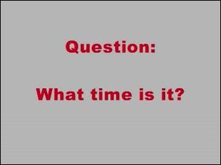 Si je vous dit en anglais :   it's 3 pm   quelle heure est-il ?