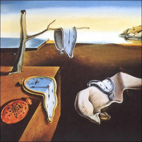 Une référence artistique : qui a peint  la persistance de la mémoire  connue aussi sous le nom de  montres molles  ?