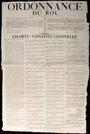 Quel texte, octroyé par Louis XVIII, concède aux Français la liberté de presse et de religion, l'égalité devant la loi et le respect des biens nationaux ?