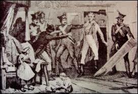 Comment appelle-t-on la répression exercée par les royalistes contre les bonapartistes et les républicains ?