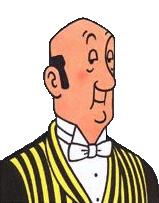 Les personnages dans Tintin (5) - Nestor