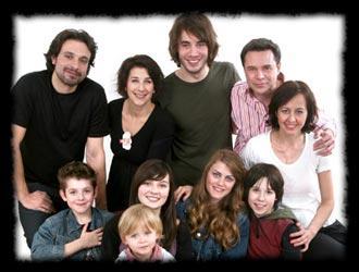 Comment s'appellent les deux familles dans la série ?