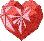 Que signifie le coeur rouge et combien de cordis rapporte-t-il ?
