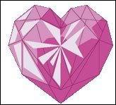 Que signifie le coeur rose et combien de cordis rapporte-t-il ?