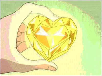 Que signifie le coeur jaune et combien de cordis rapporte-t-il ?