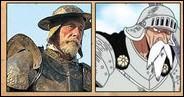C'est un personnage qui fut incarné par Jean Rochefort qui serait à l'origine du personnage de Gan Fall. Célèbre pour ses batailles contre des moulins à vent, il s'agit de :