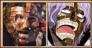 C'est un autre catcheur, apparaissant souvent masqué sous le surnom de Mankind, qui a influencé la création du personnage de Spandam ! De quel catcheur s'agit-il ?