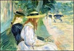 Qui a peint Sur un banc dans le bois de Boulogne ?