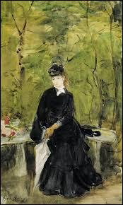 Qui a peint Jeune fille assise sur un banc ?