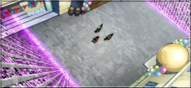 (Épisode 43) L'unité Raijin a posé des pièges dans toute la ville de Magnolia... Qui se bat contre qui dans cet épisode ? (3 réponses)