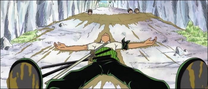 Épisode 12 - Les Mugiwaras décide d'attendre les pirates du Chat Noir de pied ferme... Mais ils vont de mésaventures en mésaventures ! Lesquelles ? (3 réponses)