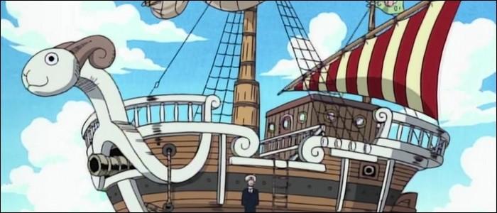 Épisode 17 - C'est dans cet épisode que Luffy et son équipage obtiennent le très fameux Vogue Merry ! Cochez les bonnes affirmations le concernant.(2 réponses)