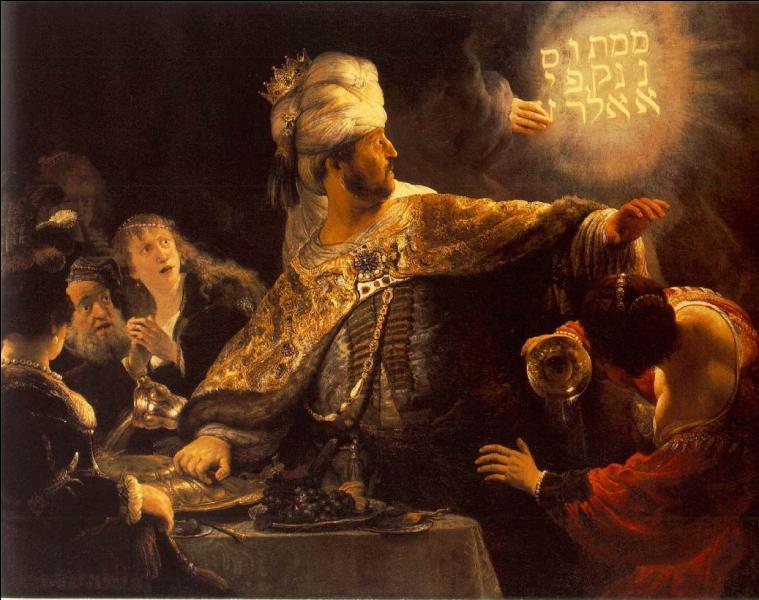 Le festin de Balthazar , tableau inspiré d'un récit biblique, est l'oeuvre de :