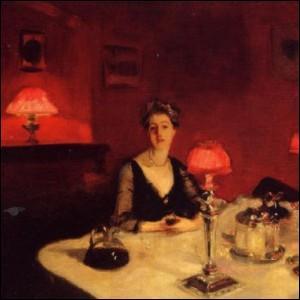 Une table de dîner la nuit , tableau réalisé en 1884, est une oeuvre de :