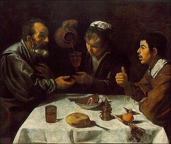 A quel grand peintre baroque du 17e siècle doit-on  Le déjeuner des paysans  ?