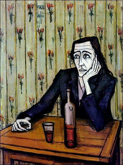 La femme au verre de vin  est une peinture de :