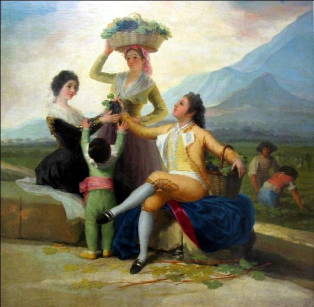 L'Automne ou les vendanges , tableau datant de 1786, est l'oeuvre de :