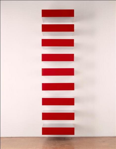 A quel mouvement peut-on rattacher cette œuvre de Donald Judd ( Pile , 1972) ?