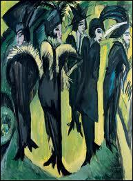 Les années 1900. L'expressionnisme se développe en France avec les Fauves et en Allemagne avec un groupe dont Kirchner est le principal représentant. Quel est son nom ?