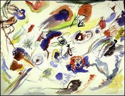 En quelle année Vassily Kandinsky réalise-t-il sa première aquarelle abstraite, qui marque la naissance de l'art abstrait ?