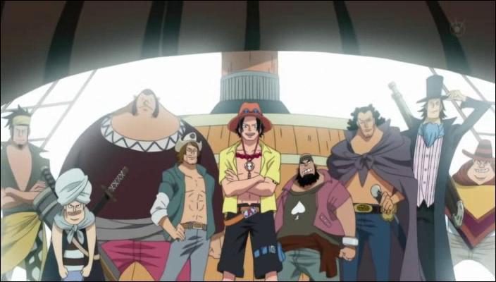 Comment s'appelle l'équipage dont Ace était le capitaine ?