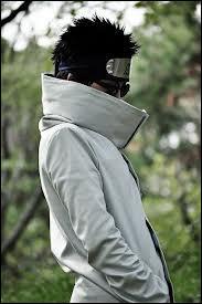 Qui est ce ninja du village des feuilles, de garde chûnin et manipulant les insectes ?